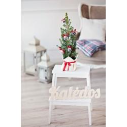 """Medinis užrašas """"Kalėdos"""" 50 cm"""