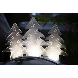 """9 LED lempučių dekoracija """"Eglutės"""""""